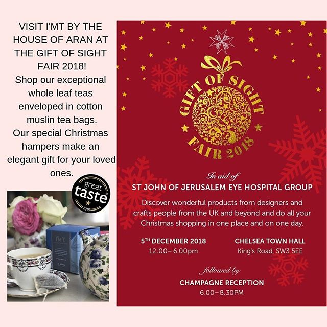 See you all at the Chelsea Old Town Hall on Wednesday! Help us aid this amazing cause by purchasing our exclusive hampers... for a lovely and thoughtful Christmas gift! . . .  #review #customer #goodmorning #teatime #christmas #spiritofchristmas #christmasdecor #customerservice #forpeople #tea #tealovers #moments #momentsofmine #myunicornlife #prettycitylondon #positivevibes #gratitude #pursuepretty #littlethings #wellness #inspiremyinstagram #petitejoys #neveradullmoment #hightea #exploremore #livethelittlethings #livecolorfully #thehappynow #chai #flashesofdelight