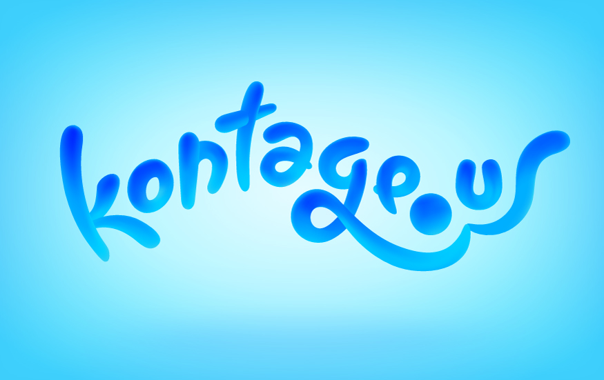 Logo Design  Client: NYC Startup KONTAGE.US