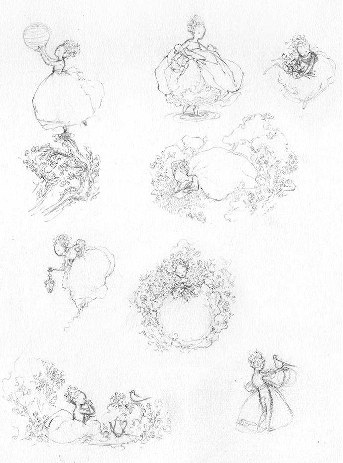 Fairytale Character Sketches