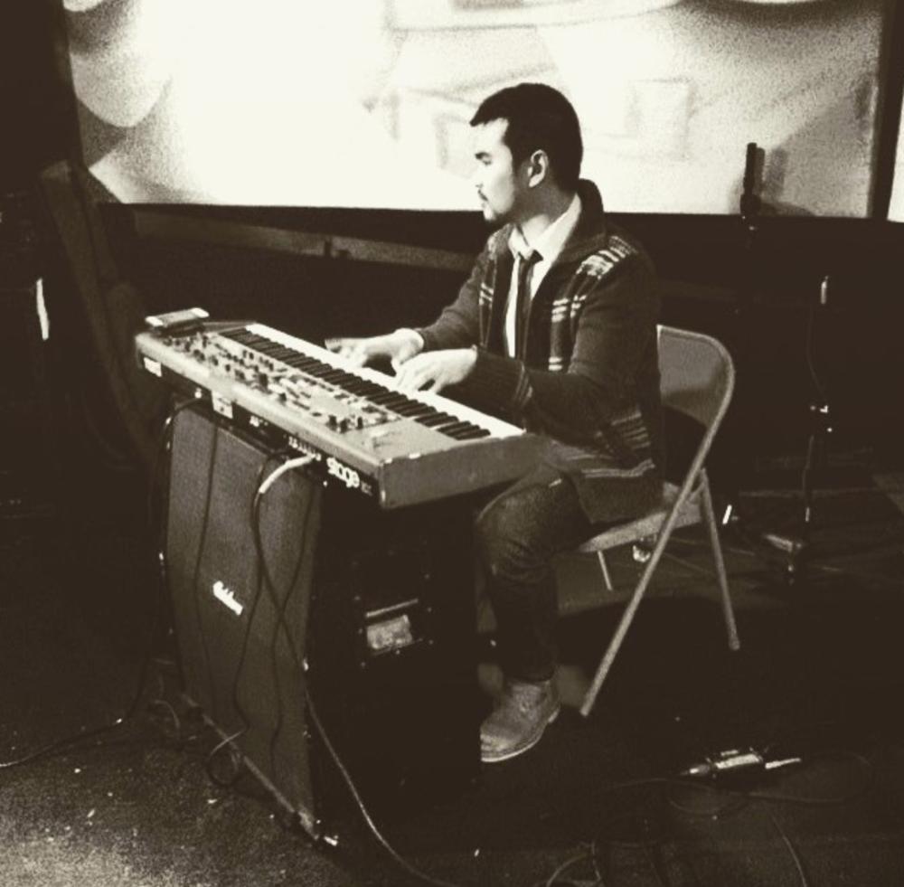 Amos Ang, Keyboardist.