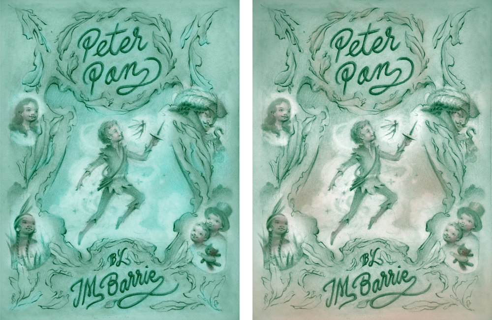 Two color options for Peter Pan.