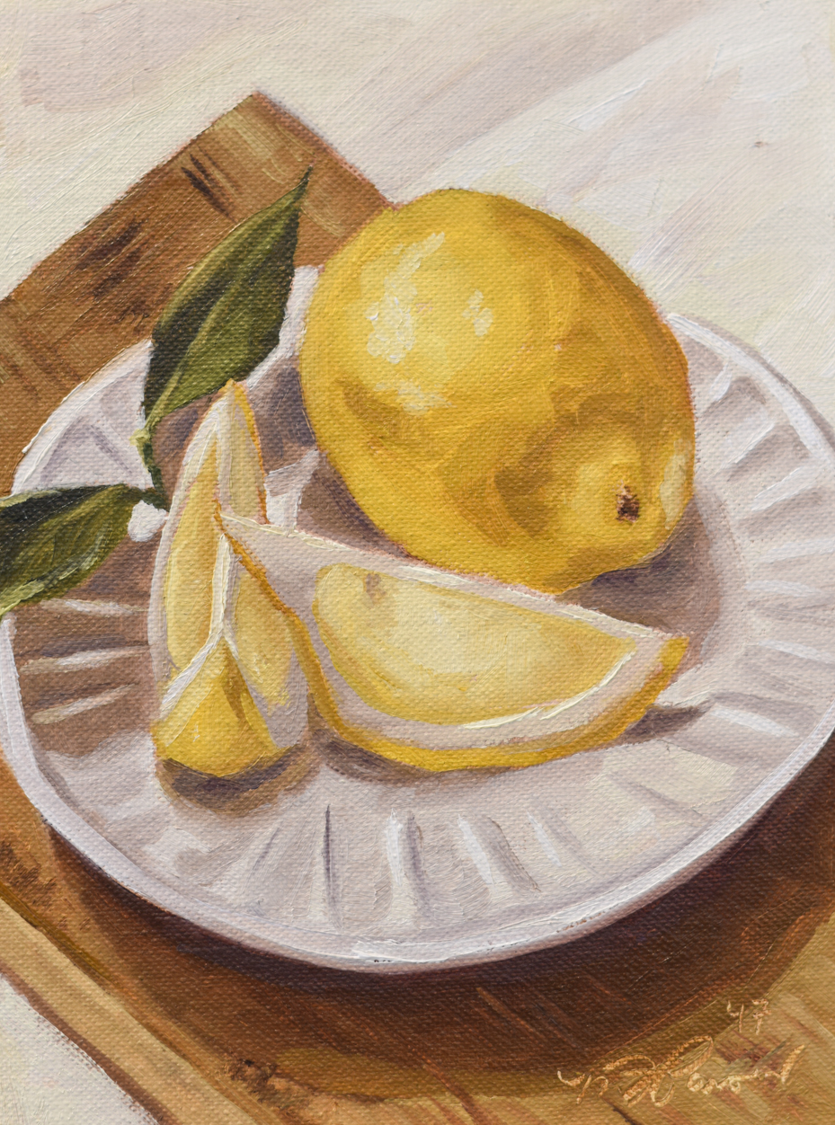 In 2017, Marian started a series of oils paintings.
