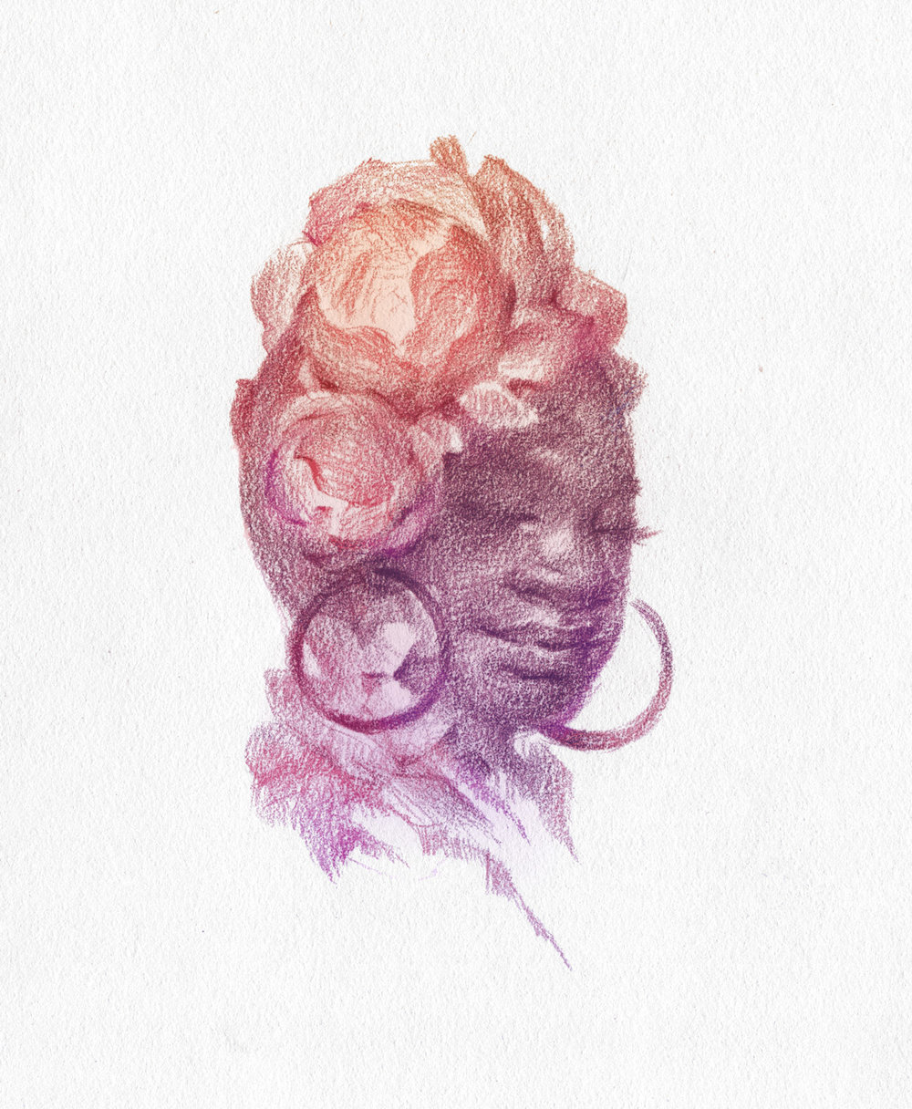 Floral Dreams Portrait