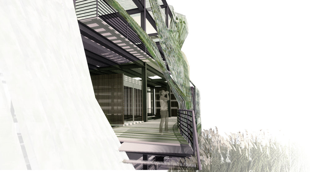 Conceptual Commercial Office Building in South San Francisco, CA.