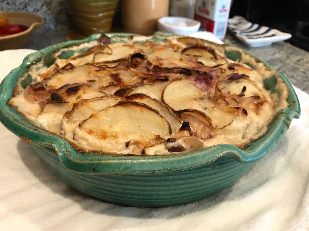 Potatoes au gratin - Potatoes au gratin recipe coming soon