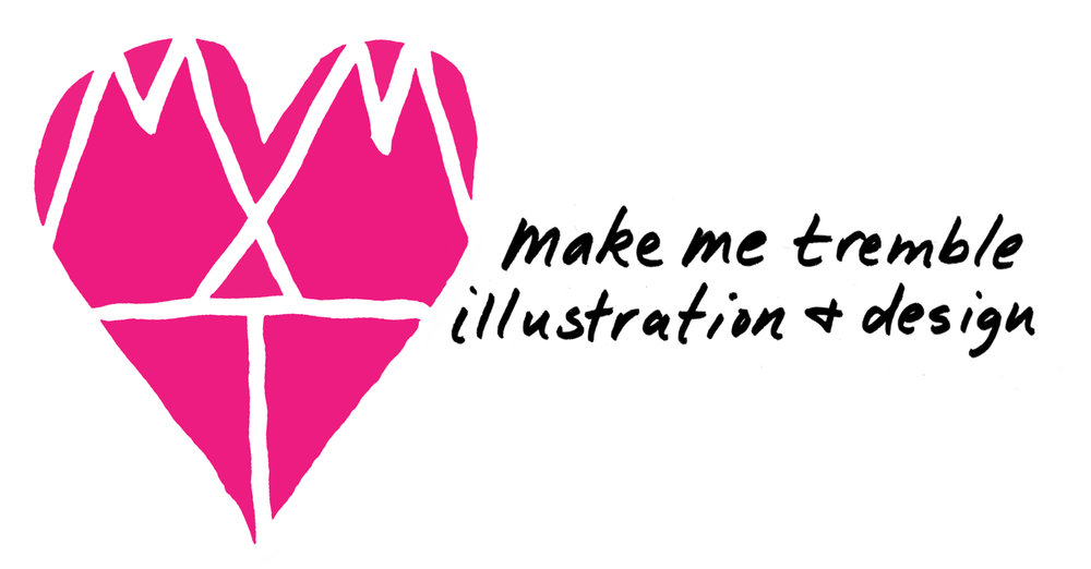 make me tremble illustration + design