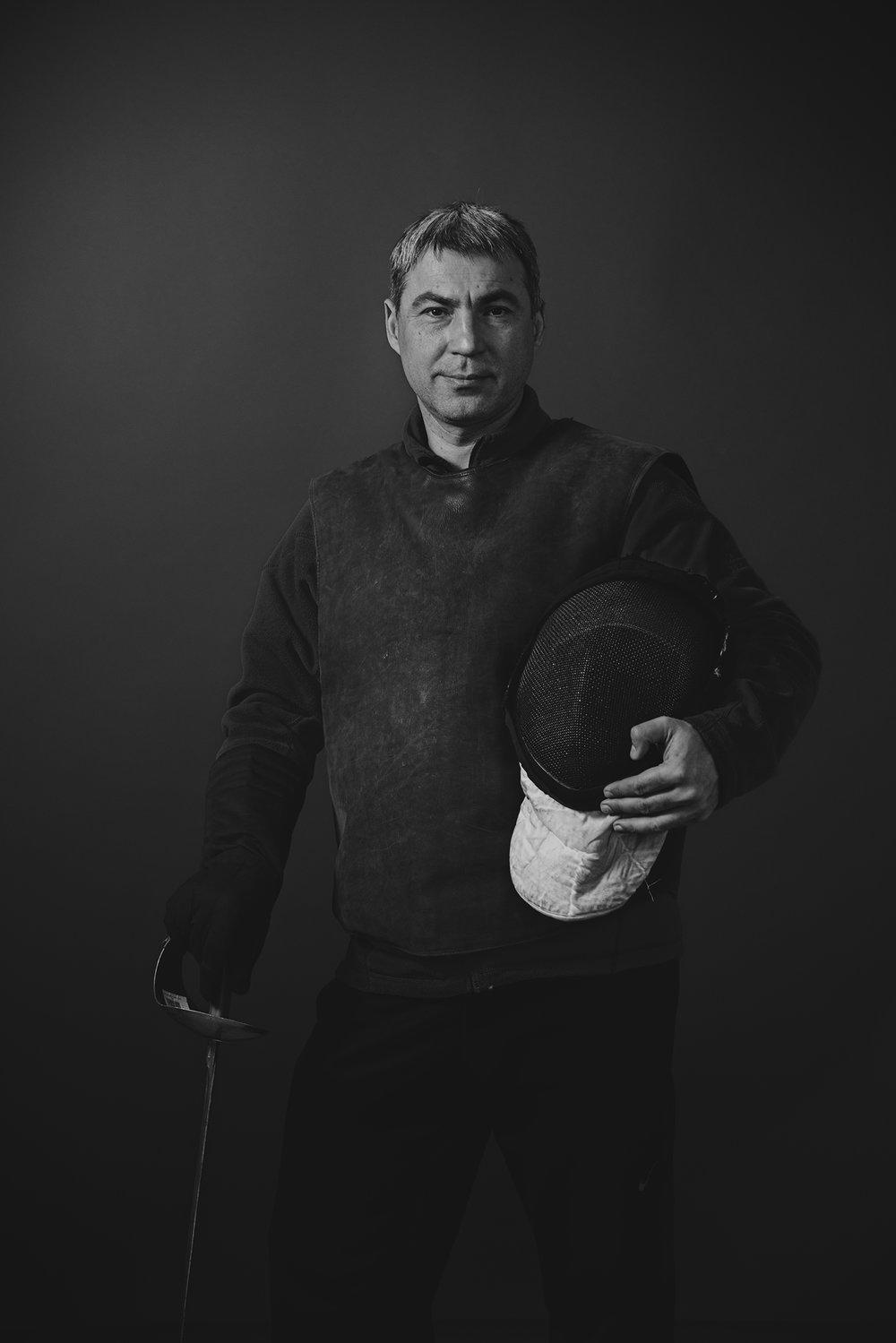 Sabre coachMykhailo (Misha) Strashkin