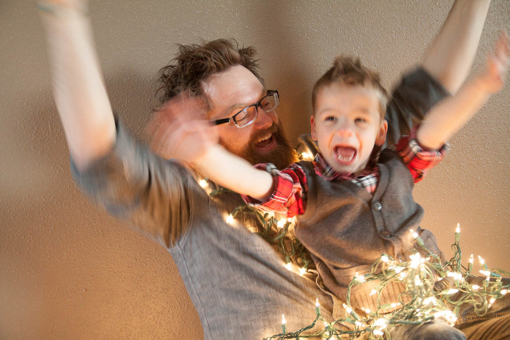 Christmas Pictures of your family at home