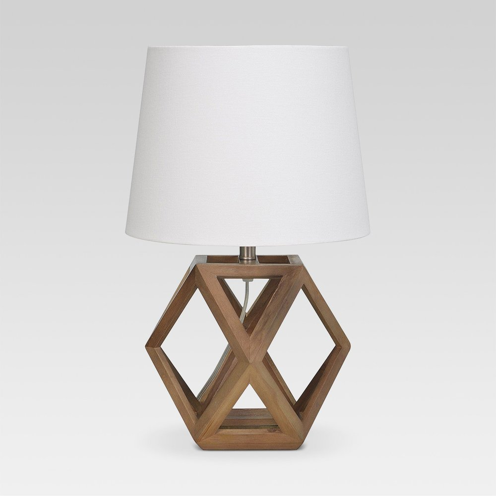 - How fun is this lamp? It is going on my future console table I am currently searching for! It is under $34 so click here to shop!