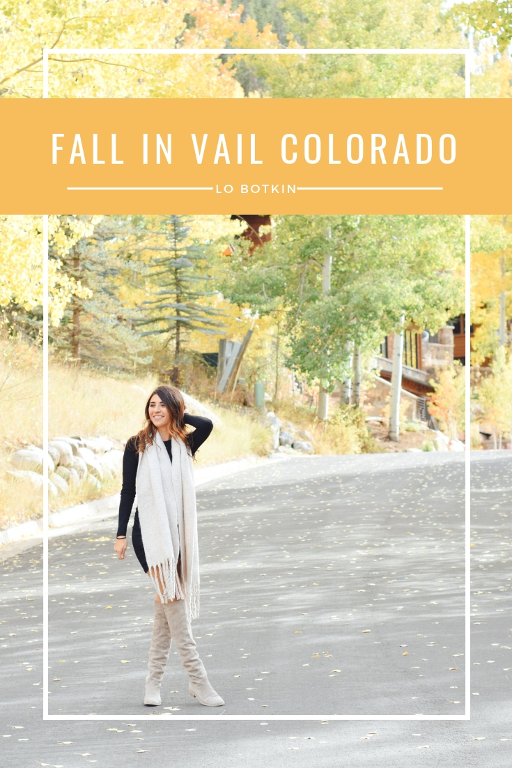 Fall in Vail Colorado