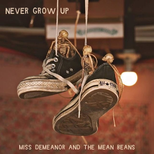 We're very excited to announce the addition of Bloomington's Miss Demeanor & the Mean Beans to the 1212 Records roster!! Their new EP 'Never Grow Up' is out January 11th, 2019 〰️ read more over at 1212records.com 💡