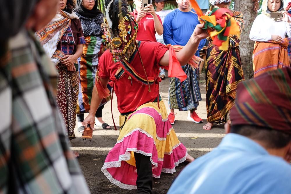 Jonathan dancing Sagayan in Cotobato