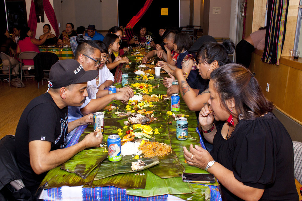 Legacy Kamayan Dinner in honor of outstanding Pilipinos in the community. Photo by Wilfred Galila.JPG
