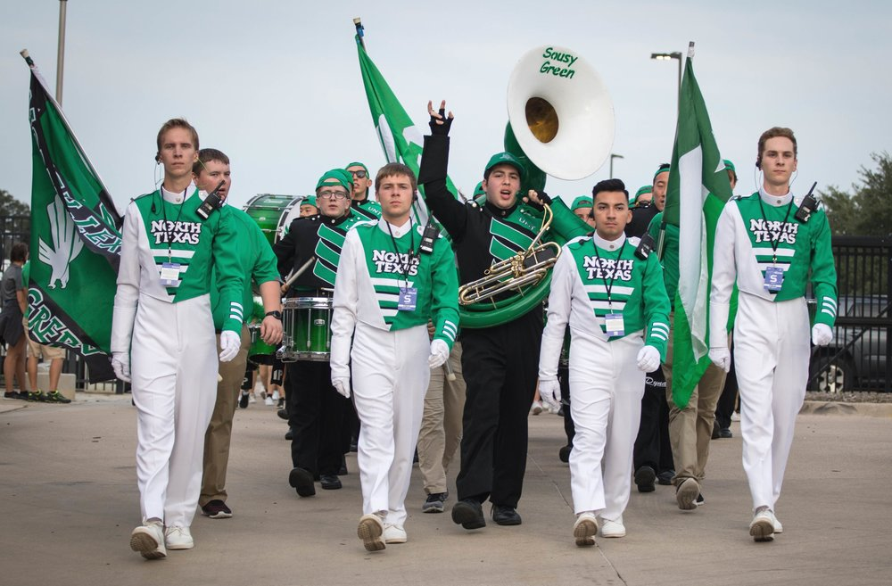 2018 season - I spent my second year with the Green Brigade as a photographer for their fall 2018 productions. From band camp through their Bowl Game in New Mexico, I helped capture moments of the 300+ students.