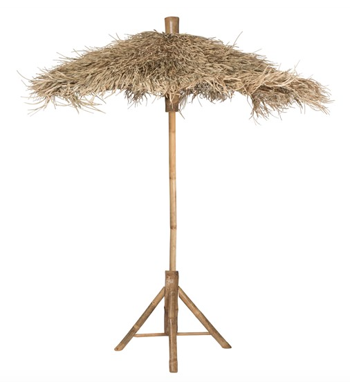 Raffia Umbrella | $100ea | Qty 3