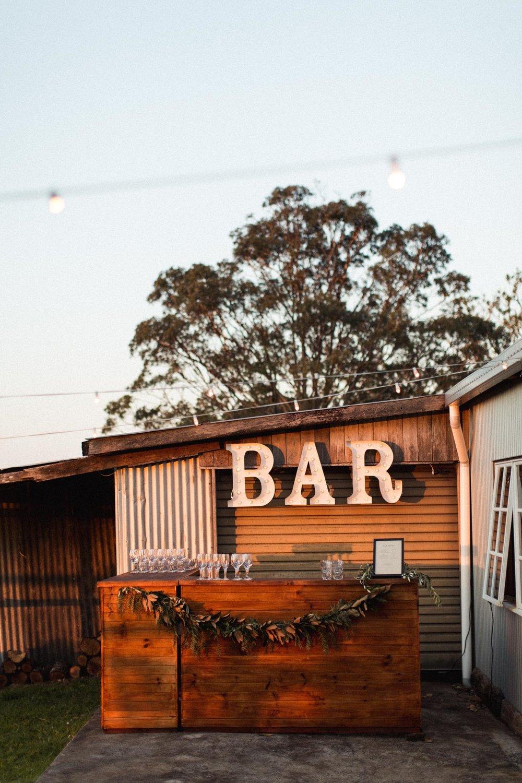 Walnut Service Bar | $120ea | Qty 2