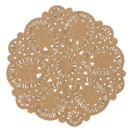 Small Jute Mandala Rug | $40ea | Qty 2