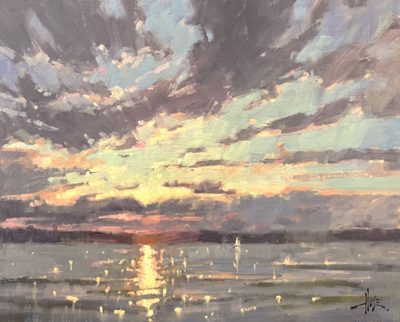 After the Squall, 2018 Plein Air Easton! - Best Use of Light Award