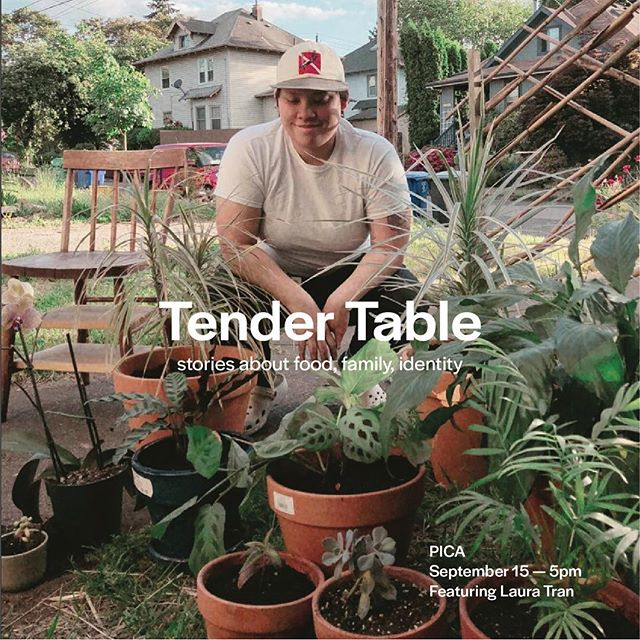 laura will be performing for @tender.table at @picapdx this saturday! 💙 come out! 💙
