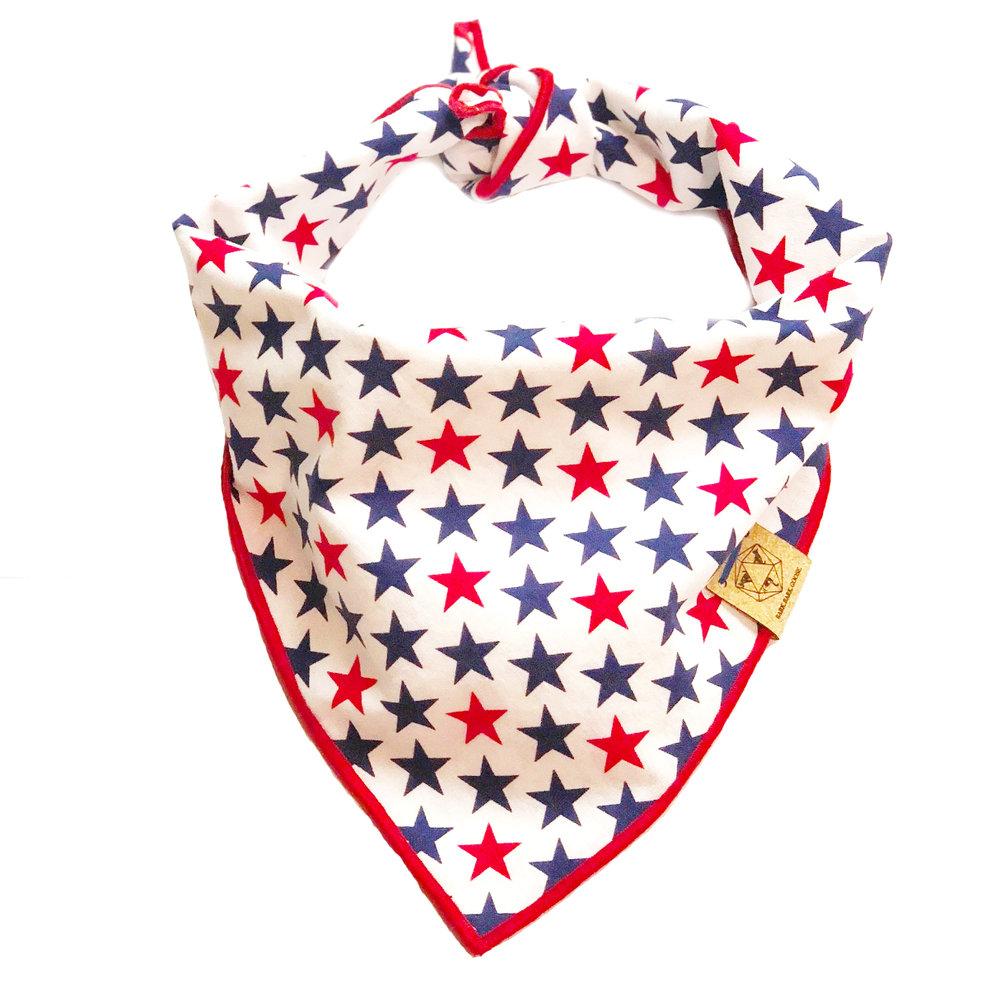 white-dog-bandana-red-blue-stars-4th-of-july.jpg