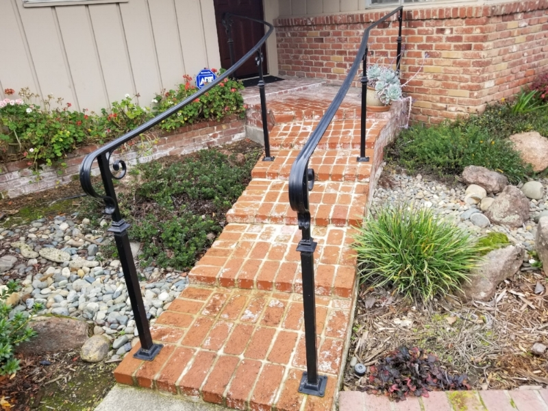 Walkway Handrails