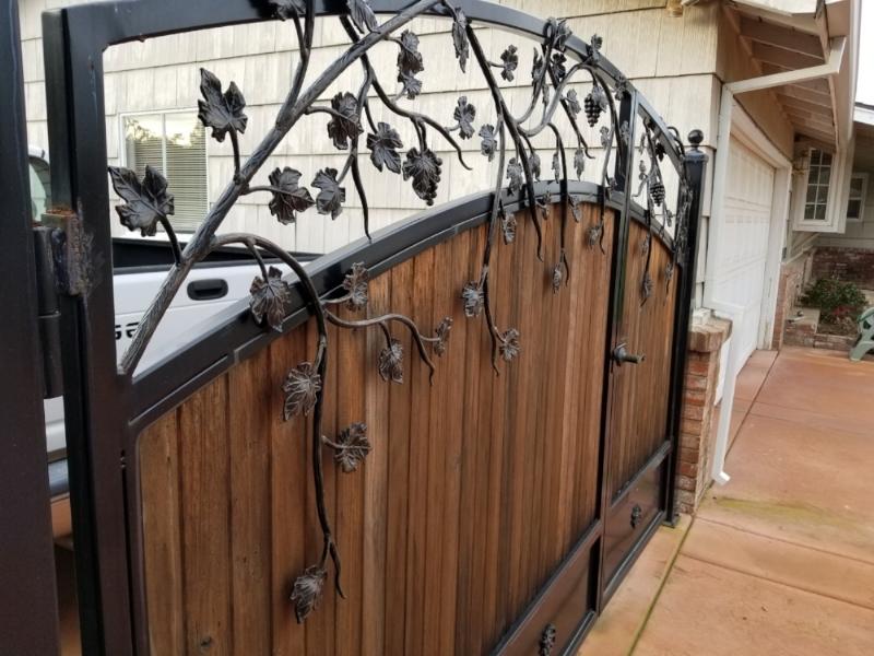 Our handmade Metal Gates