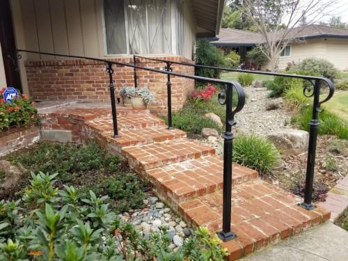 Walkway Metal Railing