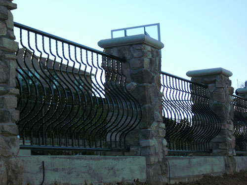Decorative Metal Rails