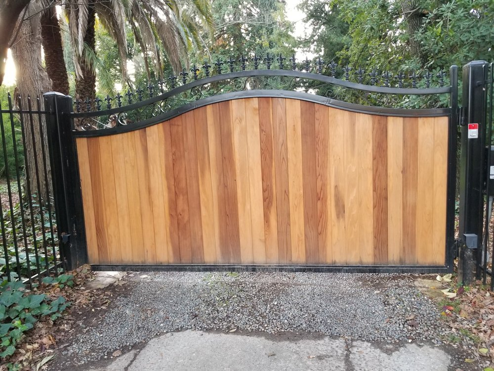 Iron/Metal Yard Gate