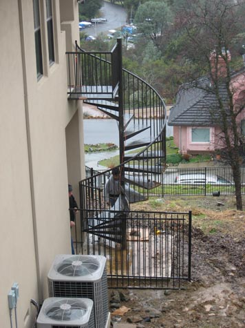 Metal Staircase Sacramento