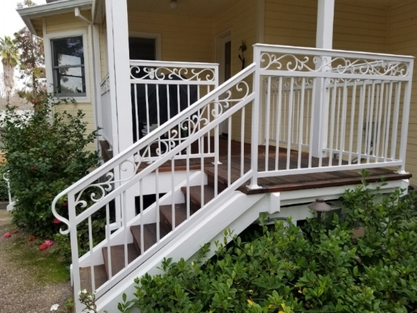 Custom Handrails for Stairs