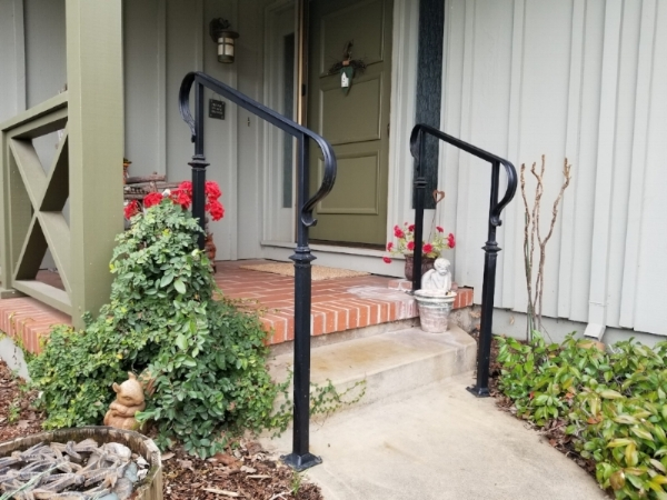 Iron Handrails for Steps