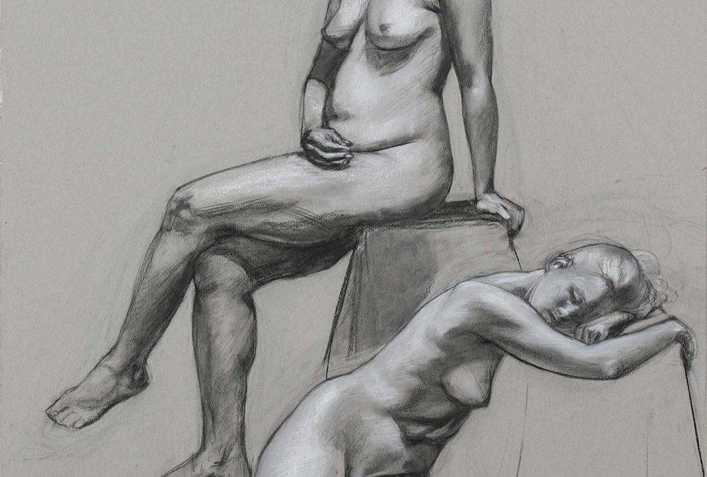 Ono-Nicole-et-René-Fall-2007-Charcoal-on-paper-69-cm-x-102-cm-x-1000x675.jpg