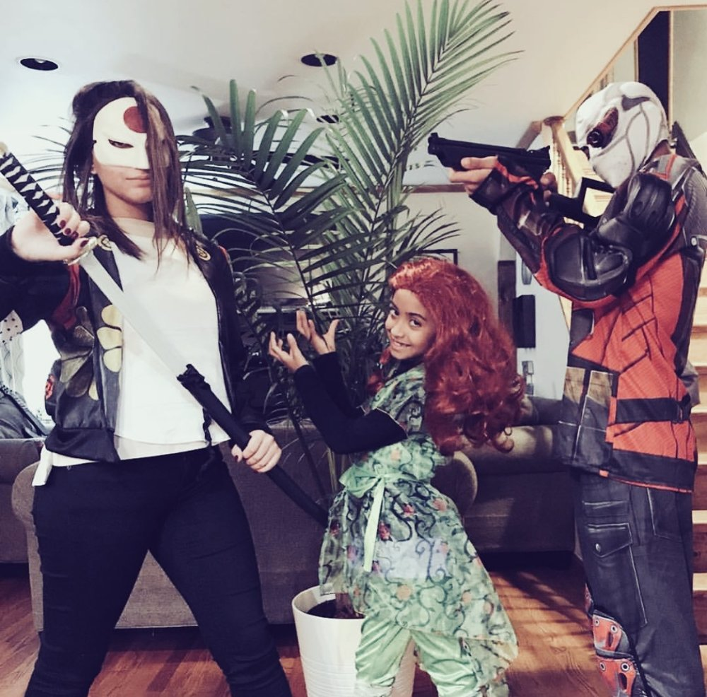 Halloween 2017: Katana, Poison Ivy & Dead Shot (The Suicide Squad)