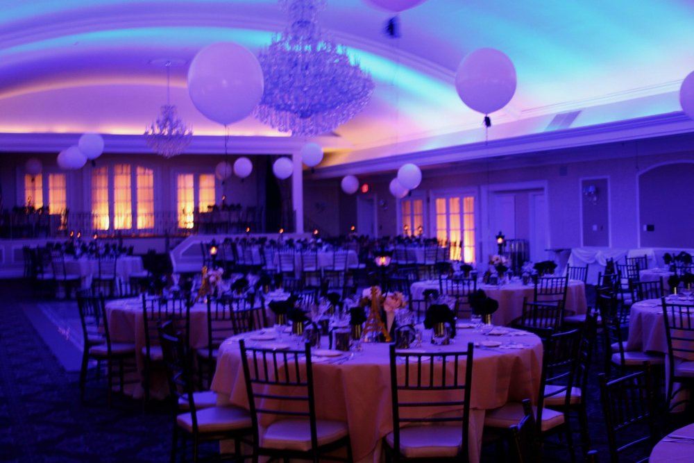 A high school prom I helped plan and decorate in 2016.