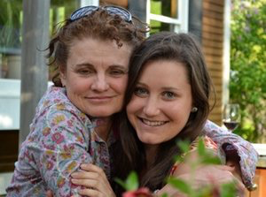 Valerie and her daughter 1LT Lauren Stuart Mabie