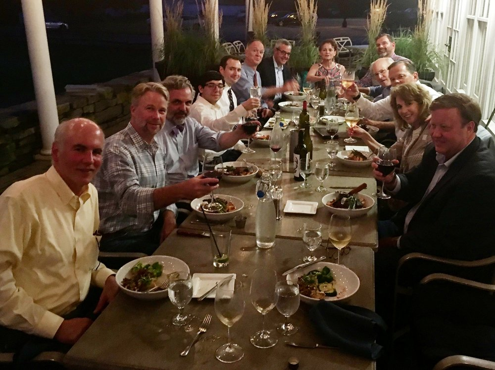 Burlington -based law firm Gravel & Shea hosted a dinner to celebrate the passage of the blockchain bill. I was honored to be invited to the gathering of those who shaped this cutting-edge legislation.