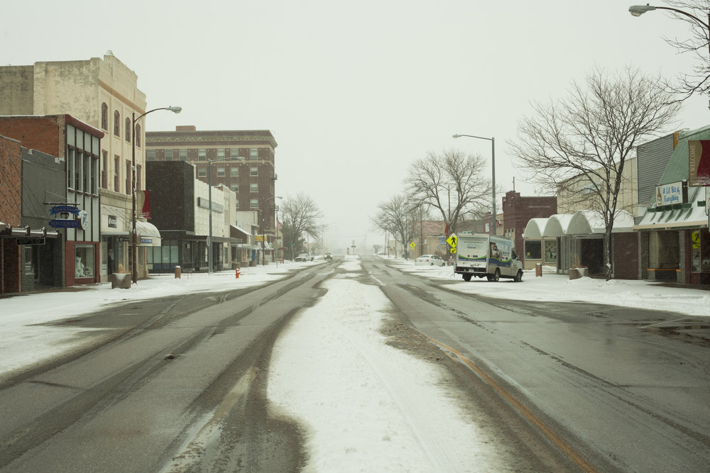 Downtown Scottsbluff, Nebraska (Photo: Michael Catarineau)