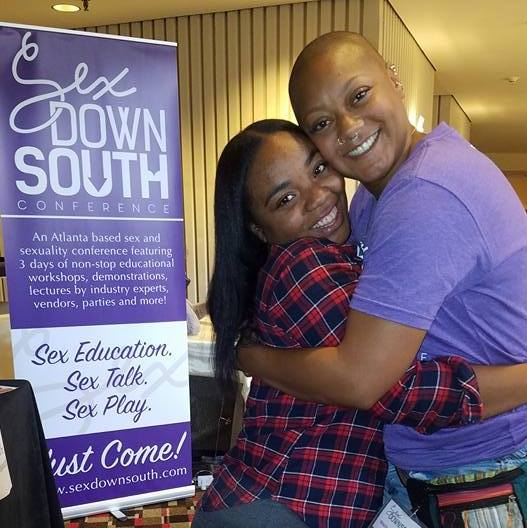 Tia & Marla at Sex Down South in 2016