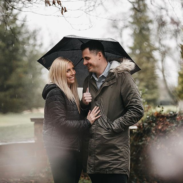 The wettest engagement shoot ever. My admiration goes to Eleanor & Sam for pushing through the rain and allowing us to get some really great pics!