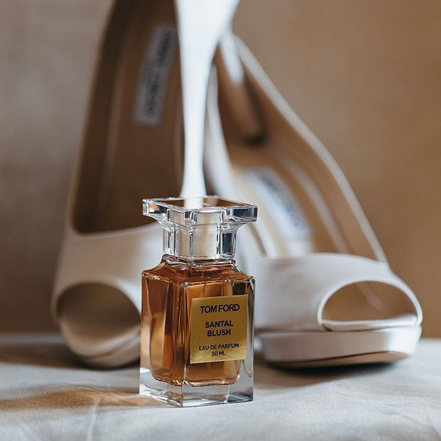 An elegant choice of Jimmy Choo's and Tom Ford on your wedding day.
