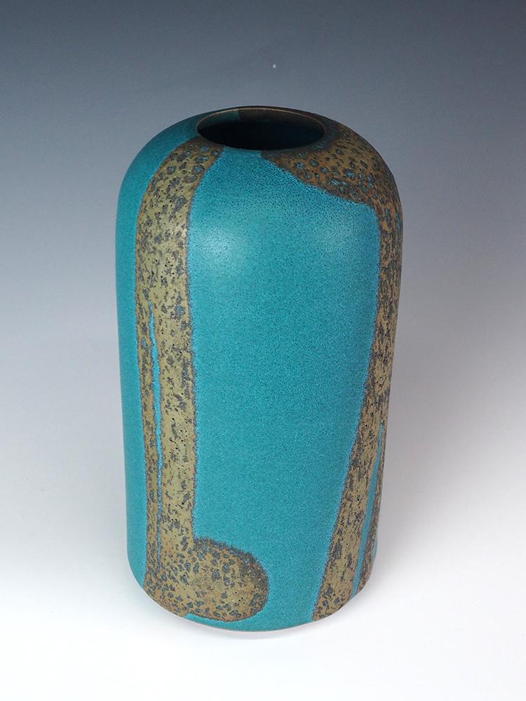 MORINO Taimei Blue Small Vase1.jpg
