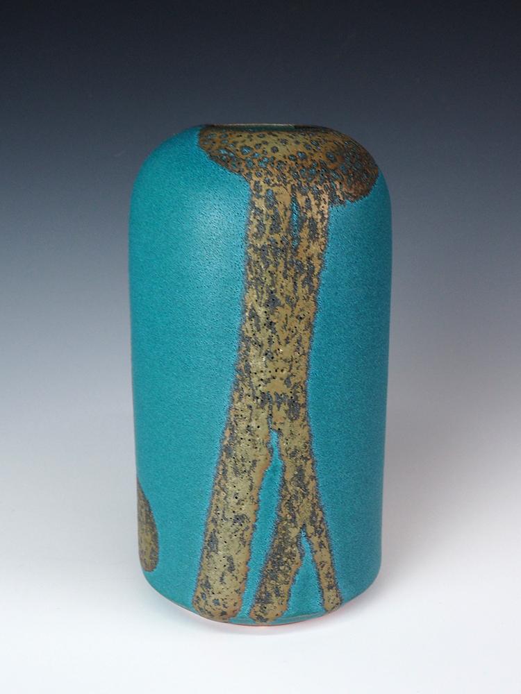 MORINO Taimei Blue Small Vase2.jpg