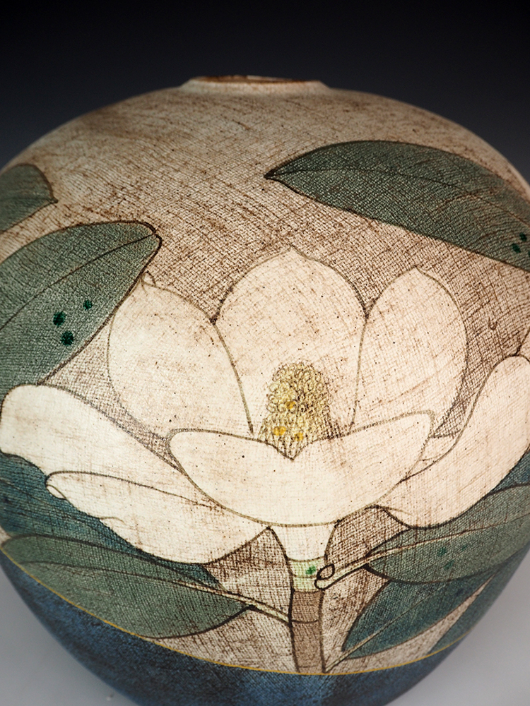 ITO Motohiko Magnolia Jar4.jpg