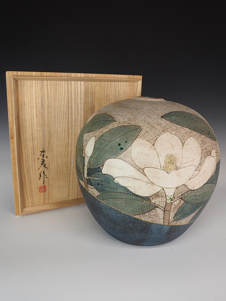 ITO Motohiko Magnolia Jar5.jpg