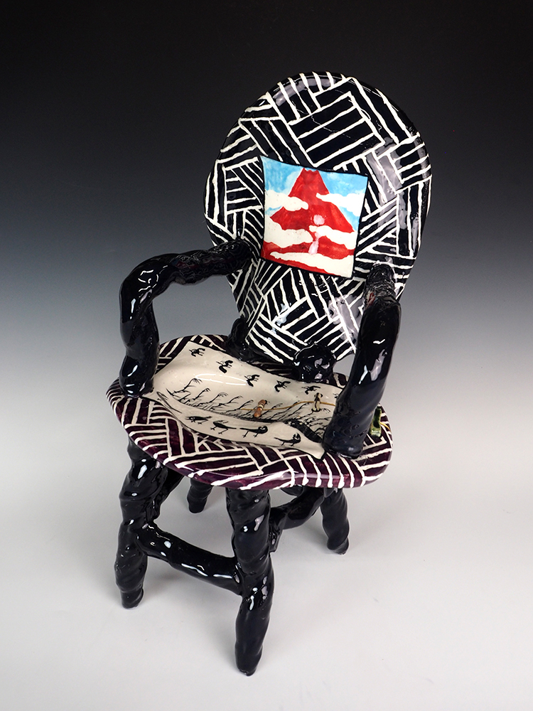SUZUKI Goro Los Angeles Oribe Chair –Mt. Fuji- 1.jpg