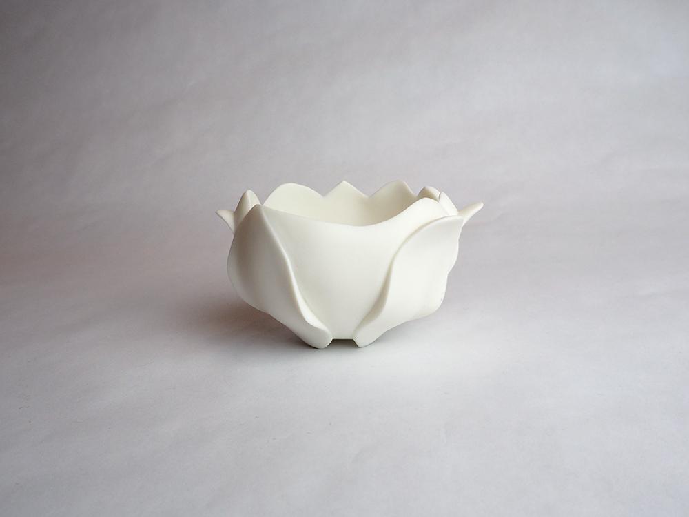 TANBA Shigeyuki | Floral Sake Cup