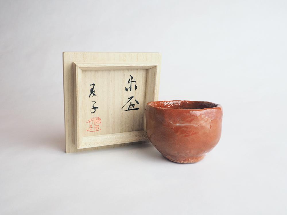 TSUDA Tomoko Red Sake Cup5.jpg