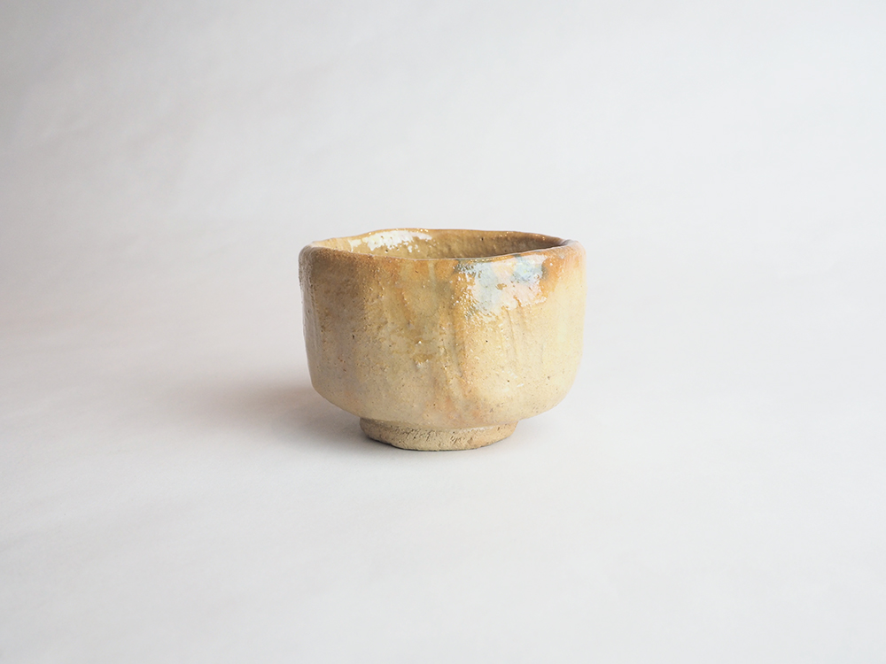 TSUDA Tomoko | Yellow Raku Sake Cup