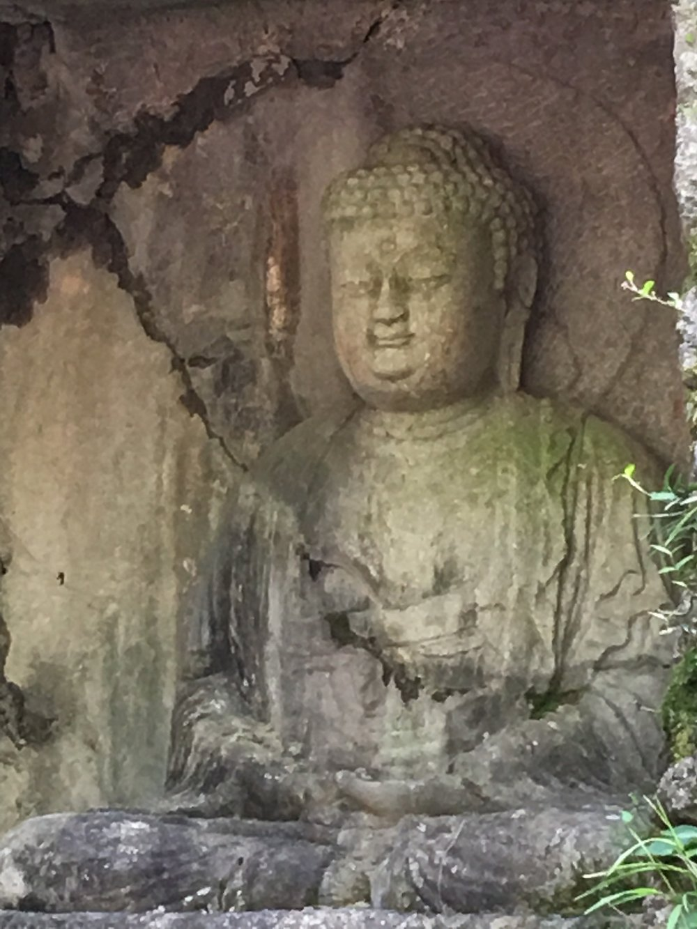 Buddha statues in Lingying Temple